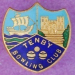 Tenby Badge